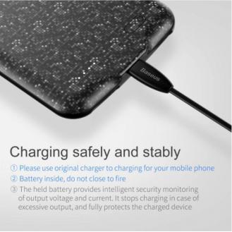 Baseus Plaid Backpack Power Bank für iPhone 7 Plus