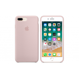 iPhone 8 Plus / 7 Plus Silicone Case Silikon Case Candy Pink
