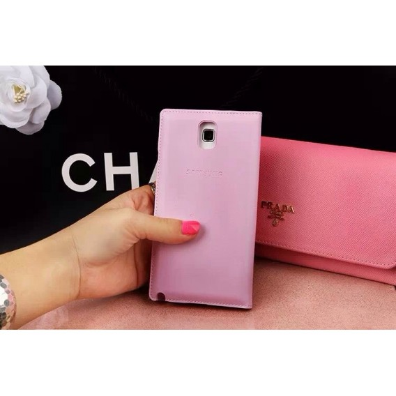 S-View Bling Strass Case Galaxy Note 3 Pink
