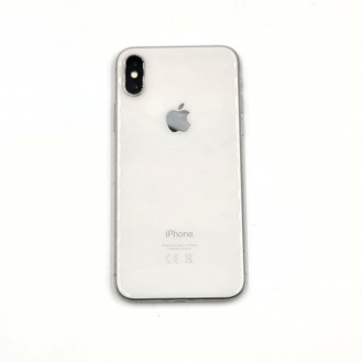 iPhone X 64GB Occasion Silber
