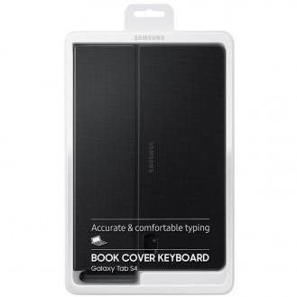 "Original Samsung - Galaxy Tab S4 10.5"" Keyboard Book Cover Hülle - Schwarz"