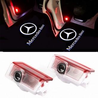 Mercedes LED Türprojektoren, Laser  Projektor, Tür Lichter, Türeinstiegbeleuchtung