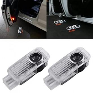 Audi LED Türprojektoren, Laser  Projektor, Tür Lichter, Türeinstiegbeleuchtung