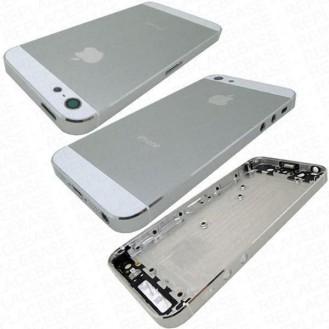 iPhone 5 Alu Backcover Rückseite Weiss (ohne vorm) A1428, A1429, A1442
