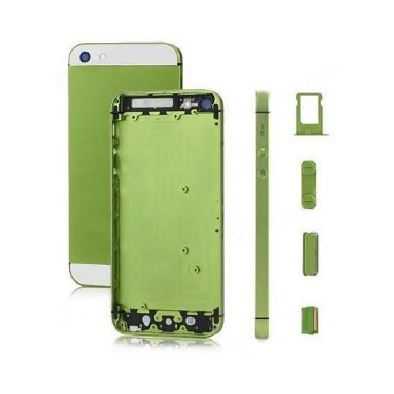 iPhone 5 Alu Backcover Rückseite Grün (ohne vorm)