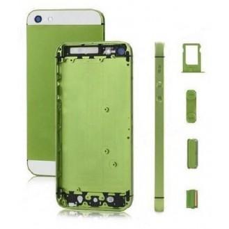 iPhone 5 Alu Backcover Rückseite Grün (ohne vorm) A1428, A1429, A1442