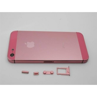 iPhone 5 Alu Backcover Rückseite Rosa A1428, A1429, A1442