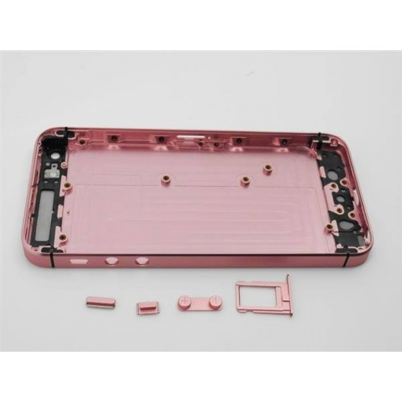 iPhone 5 Alu Backcover Rückseite Rosa
