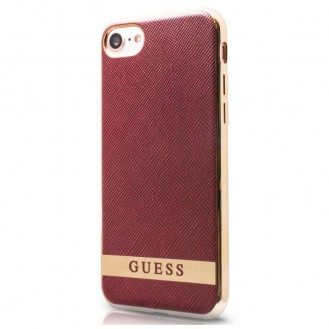 GUESS COVER iPhone SE 2020, iphone 7, 8 DECENT rot / GUHCP7STRRAG