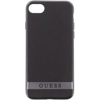 GUESS COVER iPhone SE 2020, iphone 7, 8 SCHWARZ / GUHCP7STRBAS