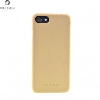 Mike Galeli - iPhone 8 Plus / 7 Plus / 6S Plus / 6 Plus Echtleder Hülle Back Case (LENNYIP8P-M03) - Braun (Beige)