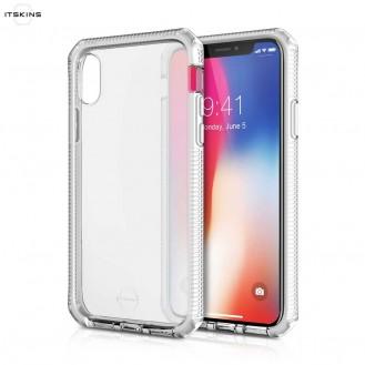 ITSkins - iPhone Xs / X Supreme Schutz Hardcase Hülle (Fallschutz 3 Meter) - Transparent
