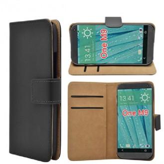 More about Schwarz Leder Kreditkarte Etui HTC One M9
