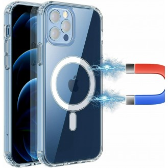 iPhone 12, 12 Pro Magsafe Hülle Magnetisches Case Transparent
