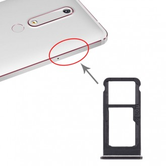Simhalter Sim tray Simkartenfach Nokia 6.1 Plus,  X6