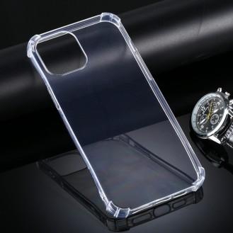 iPhone 12 Pro Max Ultra-Dünne TPU-Hülle und Anti-Drop (transparent)