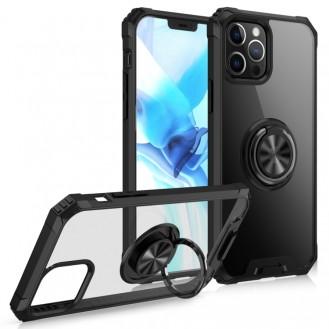 iPhone 12 Pro Max Ring Hülle + KFZ Handy Halterung