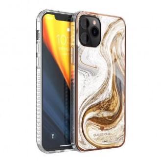 iPhone 12 und 12 Pro TPU Silikon Hülle Marmor Gold