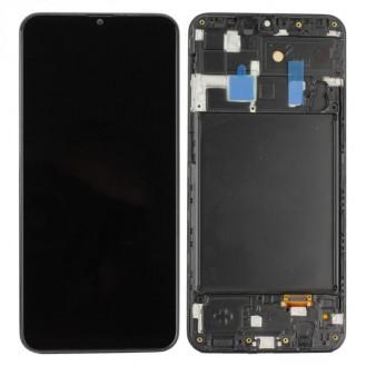 LCD Display, Kompatibel zu Samsung Galaxy A20 A205F, Schwarz