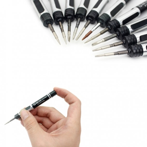 JF-8134 10 in 1 Profi Werkzeug-Set Schraubendreher Tools für Handy Reparatur