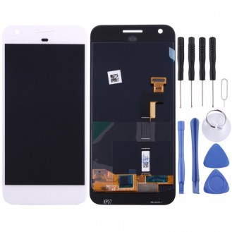 Google Pixel / Nexus S1 LCD Display Bildschrim in weiss