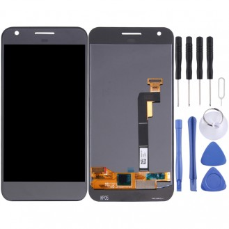 Google Pixel / Nexus S1 LCD Display Bildschrim in Grau
