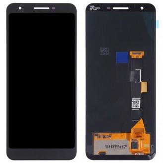 Google Pixel 3a LCD Display Bildschrim in Schwarz