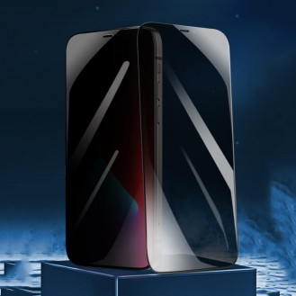 Privacy Anti Spy 9H Panzerglas Tempered Folie iPhone 12 Pro, 12