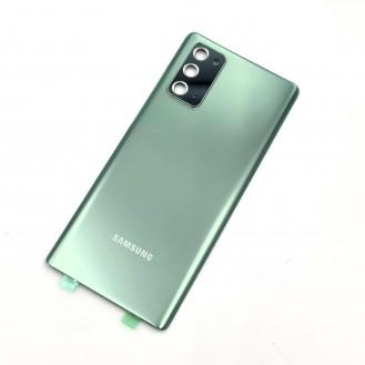 OEM Galaxy Note 20 N980F Akkudeckel mit Kameralinse, Mystic Green