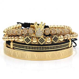 ROYAL KING GOLD Luxus Armband Bracelet