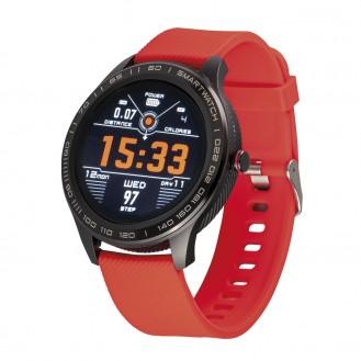 Atlanta Sportuhren Fitness-/Aktivitätstracker/Smartwatch Rot ATL9708_01