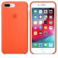 iPhone 7 Plus / 8 Plus Silikon Case Orange