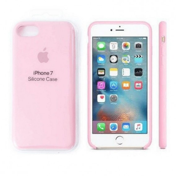 iPhone SE 2020 / 8 / 7 Silikon Case Pink