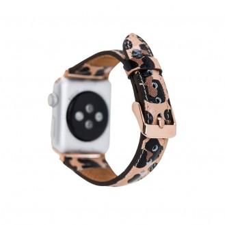 Bouletta Lederarmband für Apple Watch 42mm / 44 mm - Floater Gelb