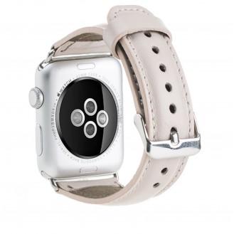 Bouletta Leder Watch Gurt für Apple Watch 42mm / 44mm - Nude Rosa