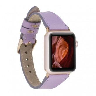 Bouletta Slim Leder Apple Watch Band 38-40mm / 42-44mm - CP22