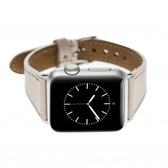 Bouletta Slim Leder Watch Strap für Apple Watch 42mm/44mm - Nude Pink