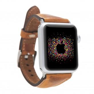 More about Bouletta Leder Watch Slim Band für Apple Watch 42-44 mm Vegetal Brown
