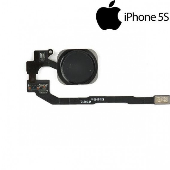 Homebutton knopf Flexkabel Touch ID Sensor Schwarz iPhone 5S