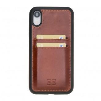 More about Bouletta Flex Cover mit Kartenfach Back Leder Case für iPhone XR Braun