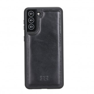 BOULETTA FLEX COVER BACK LEDER CASE FÜR SAMSUNG GALAXY S21 - Black