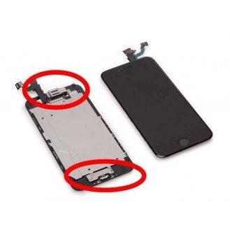 iPhone 6 Plus Oem LCD Display Schwarz Vormontiert