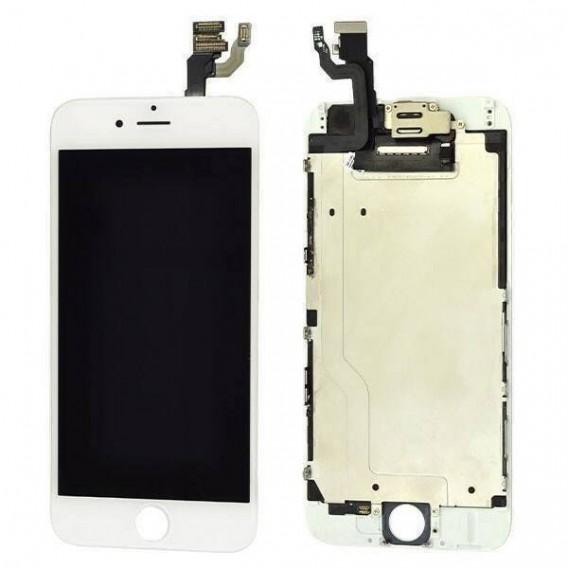 iPhone 6 LCD Display Weiss Vormontiert