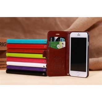PU Leder Kreditkarte Etui iPhone 6+/6S+ 5,5