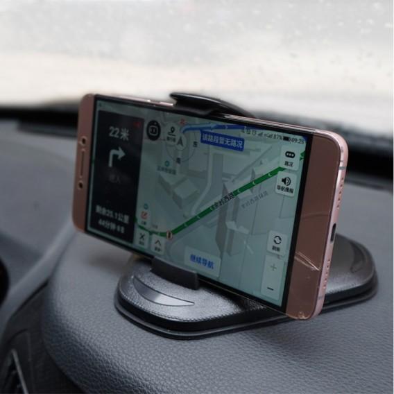 360 Magnetischer Handyhalter Auto Halterung Luminous Schwarz