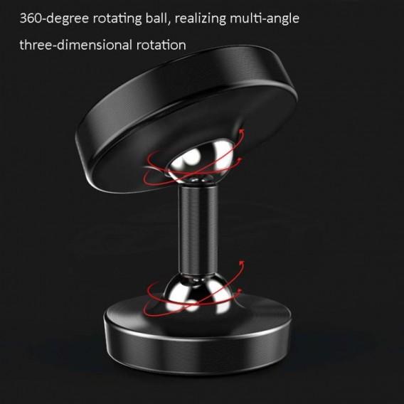 360 Magnetischer Handyhalter Auto Halterung Luminous Rot