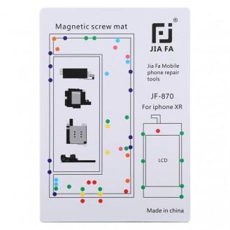Magnetpad-Schraubbrett für iPhone XR