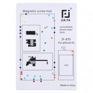 Magnetpad-Schraubbrett für iPhone XS