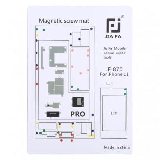 Magnetpad-Schraubbrett für iPhone 11 Pro