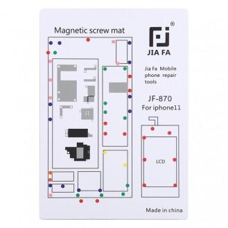 Magnetpad-Schraubbrett für iPhone 11